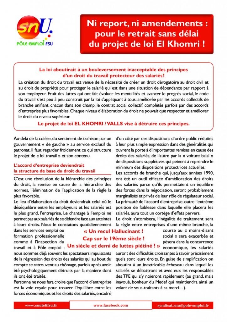 tract_snu_pe_fsu_-_projet_de_loi_travail_el_khomri-page1