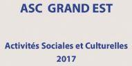 ASC GRAND EST 2017  – Le mémo  !