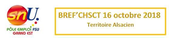 BREF'CHSCT Alsace 16 octobre 2018