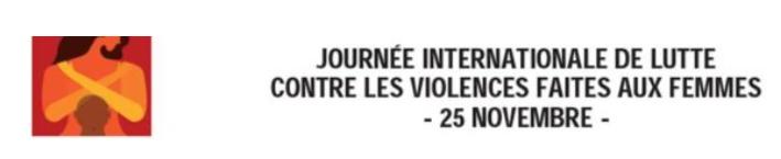 journée pour la lutte des violences faites aux femmes