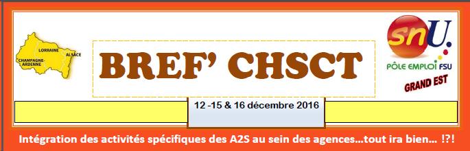 BREF'CHSCT du 16 décembre 2016