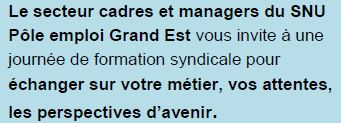 Congé de formation syndicale managers
